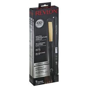 "👩NEW! Revlon 3x Ceramic Digital 430F Flat Iron 1"""